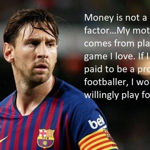 Lionel Messi Motivational Meme
