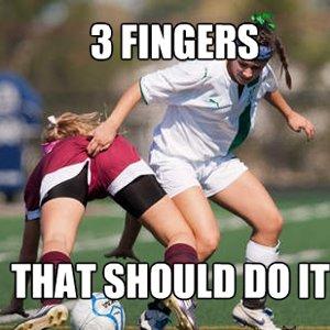 3 Finger Should Work