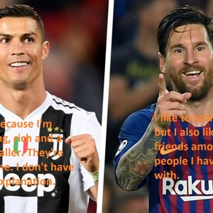 The priorities of Ronaldo and Messi